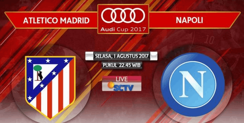 Atletico Madrid Vs Napoli audicup