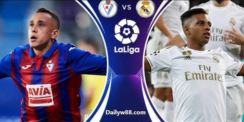 Soi kèo Eibar vs Real Madrid, 00h30' ngày 10/11/2019
