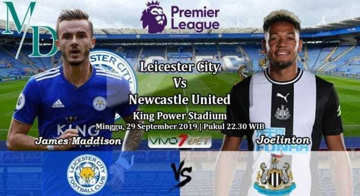 Soi kèo Leicester City vs Newcastle United 22h30' ngày 29/9/2019