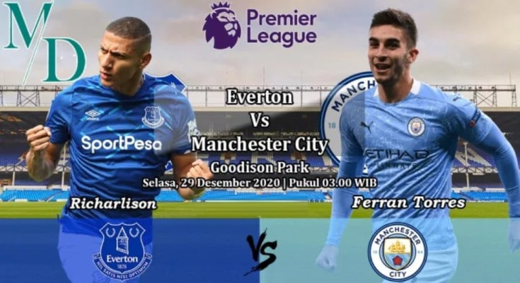 soi kèo trận Everton vs Manchester City