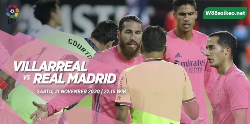 soi kèo trận Villarreal vs Real Madrid