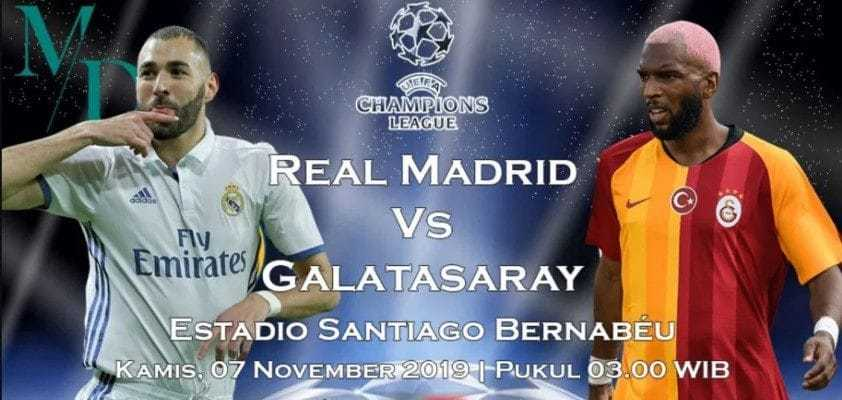 Soi kèo Real Madrid vs Galatasaray 03h00' ngày 07/11/2019