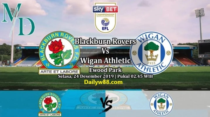 Soi kèo Blackburn vs Wigan 02h45' ngày 24/12/2019