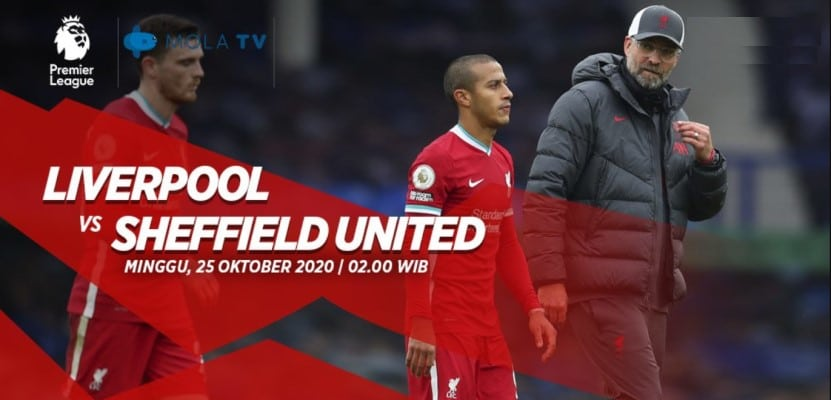 soi kèo trận Liverpool vs Sheffield United