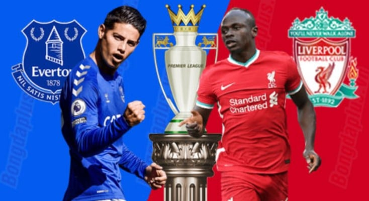 soi kèo trận Everton vs Liverpool