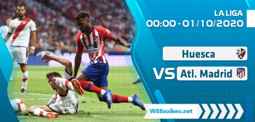 soi kèo trận SD Huesca vs Atletico Madrid
