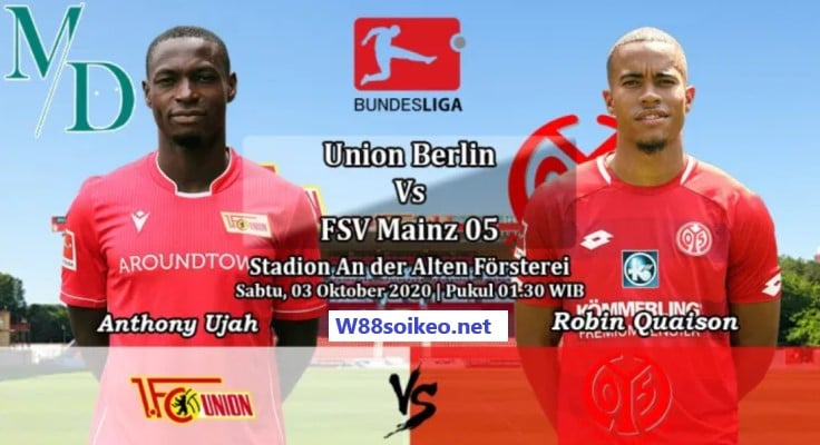 soi kèo trận Union Berlin vs Mainz 05